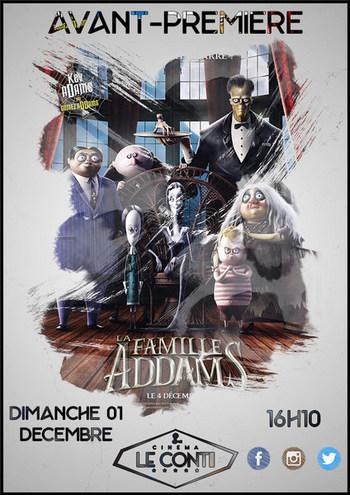 Avant-première La Famille Addams